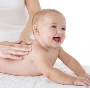 Masáž dítěte